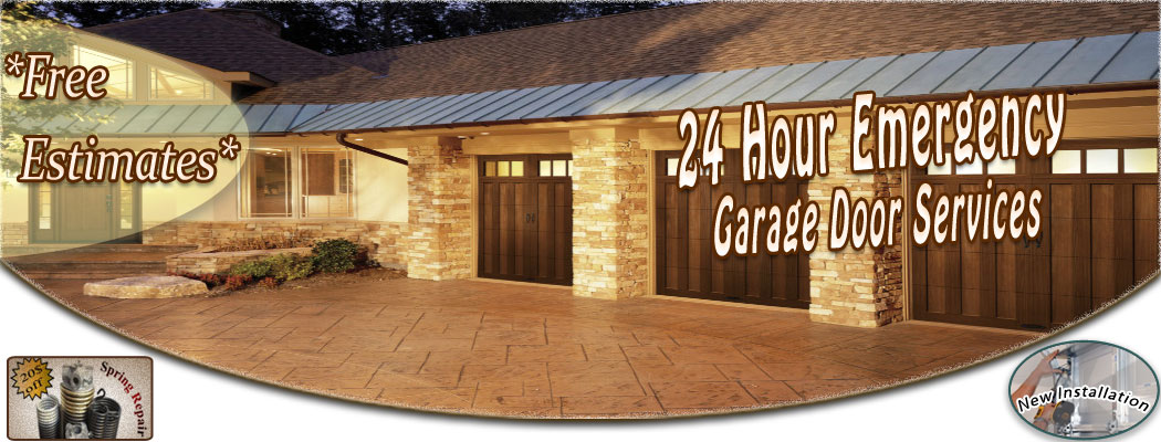 Garage Door Services: Garage Door Replacement, Garage Door Maintenance,  Emergency Garage Door Service, Torsion Spring Replacement, 24 Hour Garage  Door ...